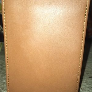 Coach Leather Writing Book Cover